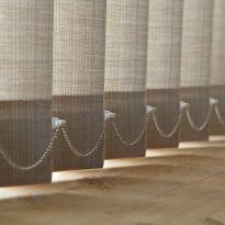 Catenella per tenda verticale per bande da mm.127