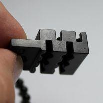 Ferma - blocco catenella per zanzariera a doppio sistema