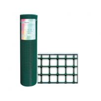 "Rete Papillon ""corral Plast"" 12,7x12,7mm H 50cm 25mt Plasticata Sgs"