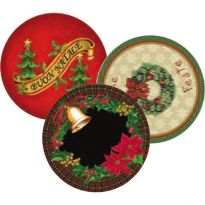 Tappeto Natale Christmas Cerchio Ø 80 Cm