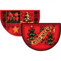 Tappeto Natale Christmas Mezzaluna 40x65 Cm PZ.10