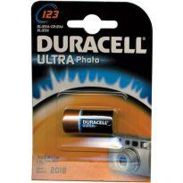 "Batterie Duracell Litio X Fotocamera ""cr123a"" (bl.1pz.)"
