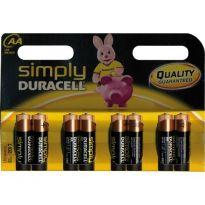 Batterie Duracell Simply Stilo (bl.8pz.)