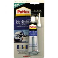 Silicon Pattex (silicon 5) Auto/nautica 60ml Nero