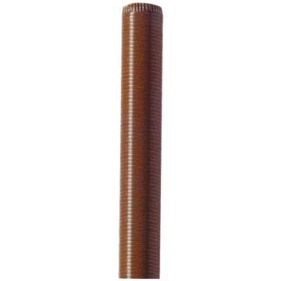 Tubo Flessibile Mt 3 Marrone diametro da 8 a 12 cm.