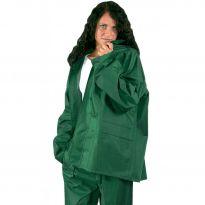 Impermeabile Lavoro Poliestere/pvc Completo Verde L Maurer
