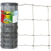 Rete Papillon Barrier 8fili 30cm H100cm 100mt Zincata