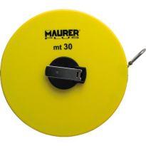 Rotella Metrica Maurer Plus Expert 30mt Nastro Fibra - Cf. In Scatola