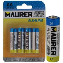 "Batterie Maurer Alkaline Stilo ""extra Power"" (bl.4pz.)"