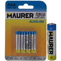 "Batterie Maurer Alkaline Ministilo ""extra Power"" (bl.4pz.)"