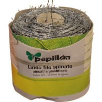Filo Spinato Zincato Papillon 100mt 1,7mm