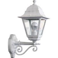 "Lanterna Giardino ""chic"" Alta Bianco/arg. Papillon - Cf. In Scatola"
