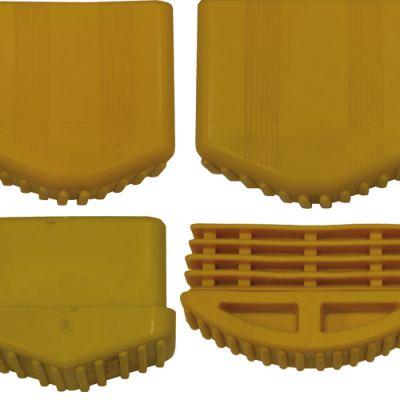 Piedino X Scala Singola Est. 24x60mm Giallo Maurer