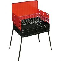 Barbecue Legna Rettang. Pic Nic Art.507 Cm.40x30xh72