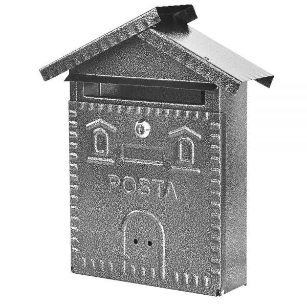 Cassetta Postale Maurer Notes Silver Acciaio