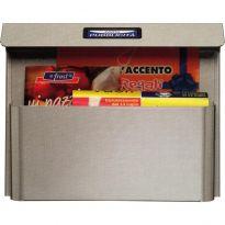 """Cassetta Pubblicita' Silmec """"41515"""" acciaio Grigia misura cm.34x8x28"""
