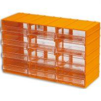 Cassettiera Portaminuterie 12 Cassetti misura 382x148x230h mm.
