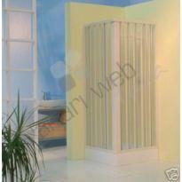 Box doccia in PVC a due lati scorrevole a soffietto