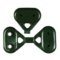 GREEN BUTTONS  PVC X RETE OMBREGG. PAPILLON CF.100 PZ