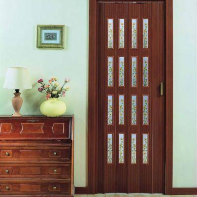 Porte a soffietto con vetri prodotta su misura, preventivo online - Awitalia.it
