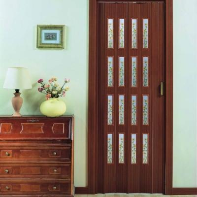 Porte a soffietto con vetri prodotta su misura preventivo - Porte a soffietto colorate ...