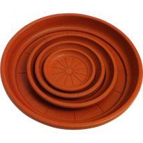 Sottovaso Colore Terracotta Cm 25