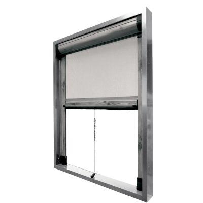 Zanzariere a scorrimento verticale Molly per finestre prodotta su misura