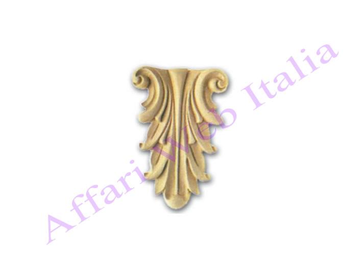 Fregi fregio per mobili in pasta di legno 70 x 100mm ebay - Fregi per mobili ...