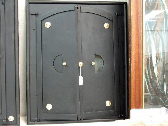 Porta in ferro per camino o forno a legna ebay - Porta legna per camino ...