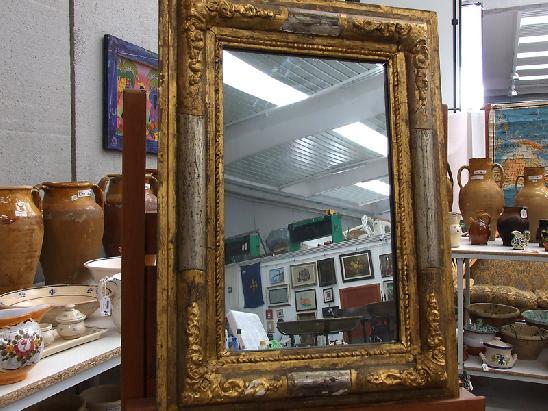 Specchio specchiera con cornice dorata e argentata del ebay - Specchio al mercurio ...