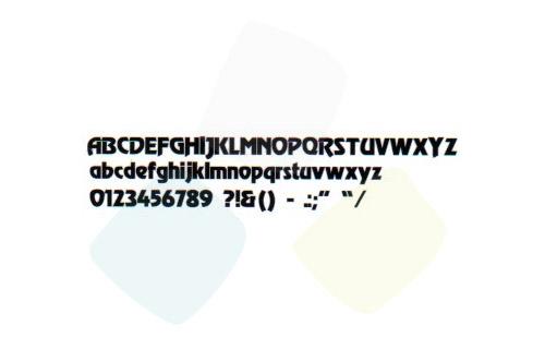 Scritta codice 15