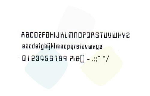 Scritta codice 19