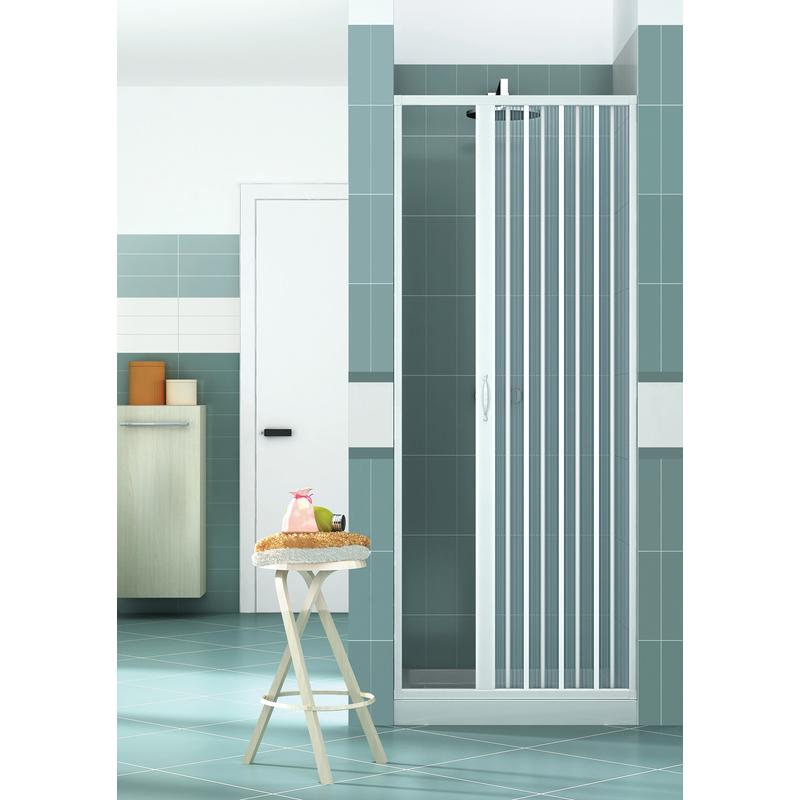 Box doccia in pvc a 1 lato tipo porta a soffietto - Porte a soffietto economiche ...