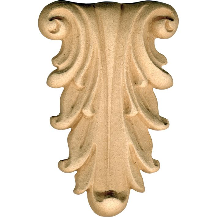 Fregio per mobili in pasta di legno 034866 misura 70x100h mm - Tasselli in legno per mobili ...