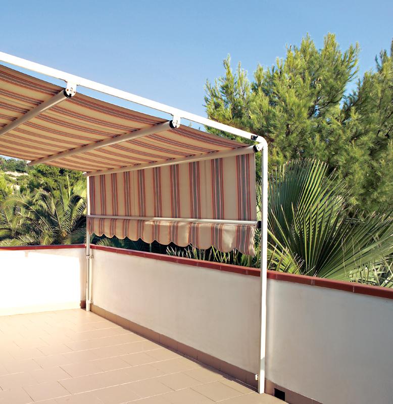 Tenda da sole giardino mini per piccoli spazi for Prezzi tende da sole