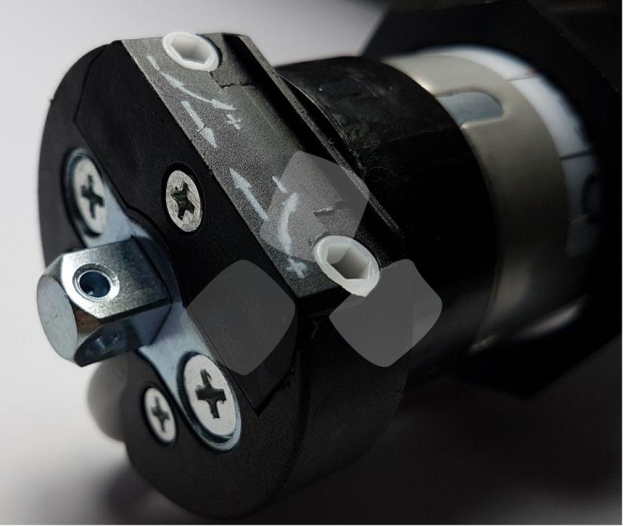 Motore per avvolgibili e tende da sole da kg.40-60-100 serie Black