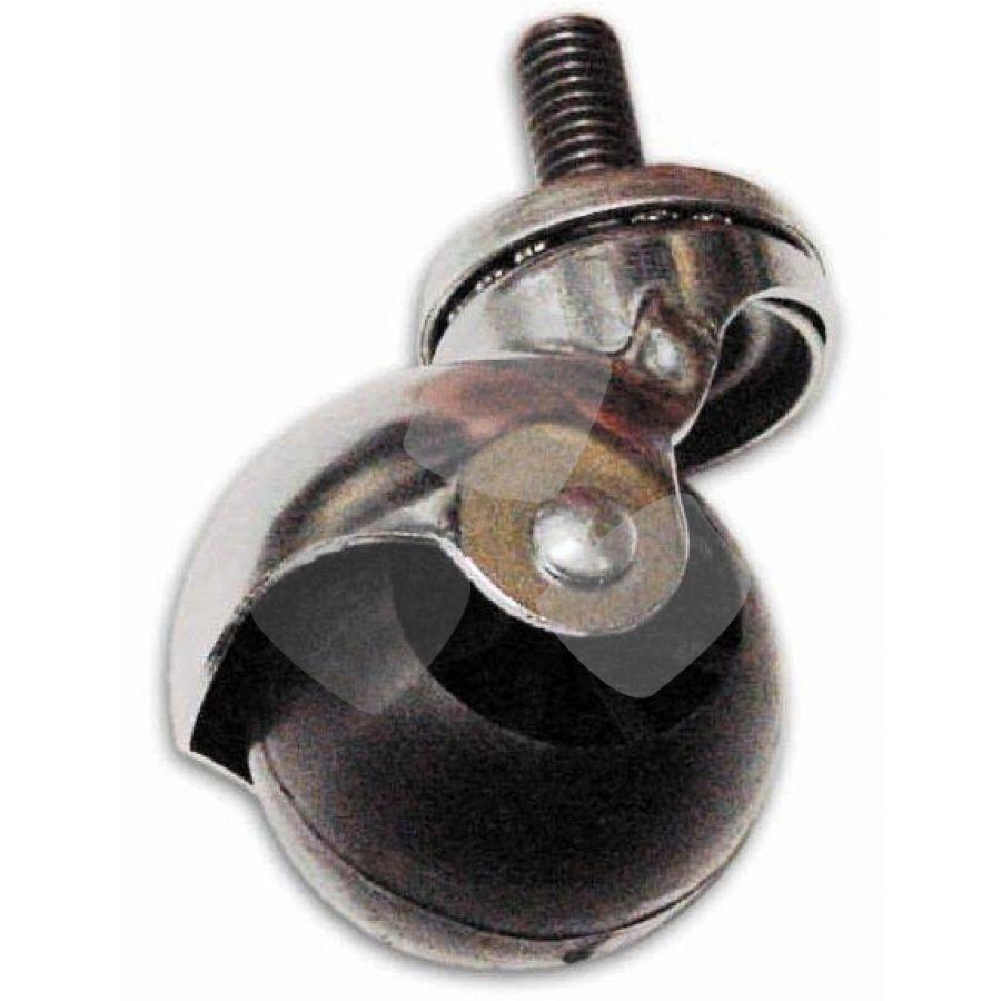 Ruota Con Perno Mdf misure 35/45mm In Nylon PZ.24