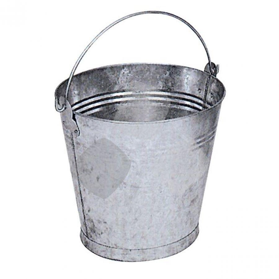 Secchio In Metallo Zincato 10lt