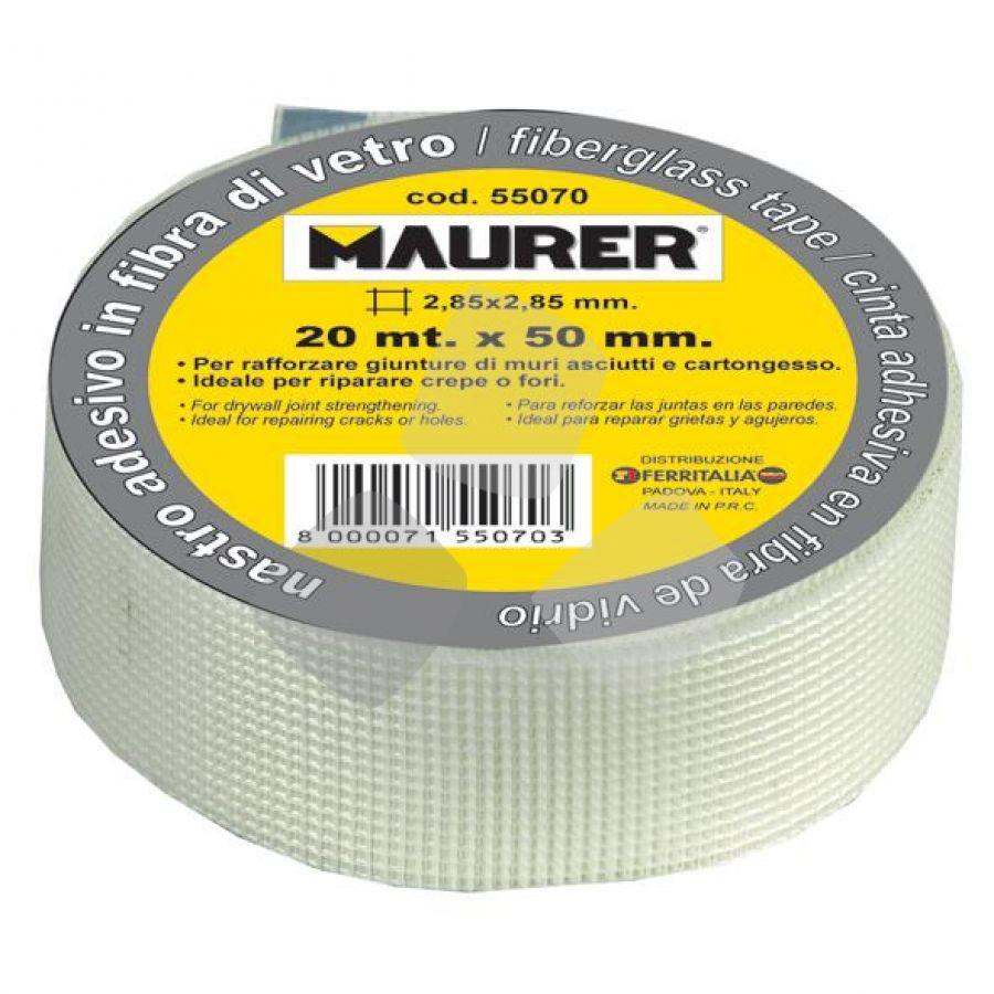 Nastro Adesivo X Cartongesso Mm 50 X 90 Mt. Maurer
