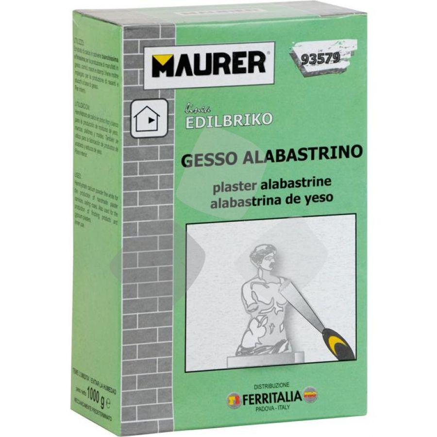 Gesso Alabastrino Maurer 1kg PZ.12