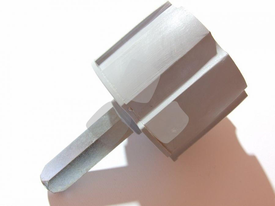 Calotta tende da sole per rullo mm.60 con perno 13 lungo