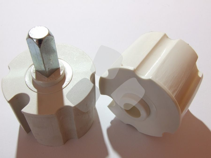 Kit calotte per tenda da sole diametro mm.60