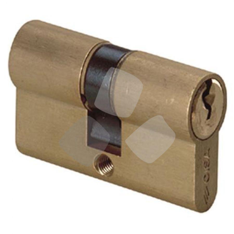Cilindro da infilare sagomato ottone 0g300 cisa - Cilindro europeo cisa 5 chiavi ...