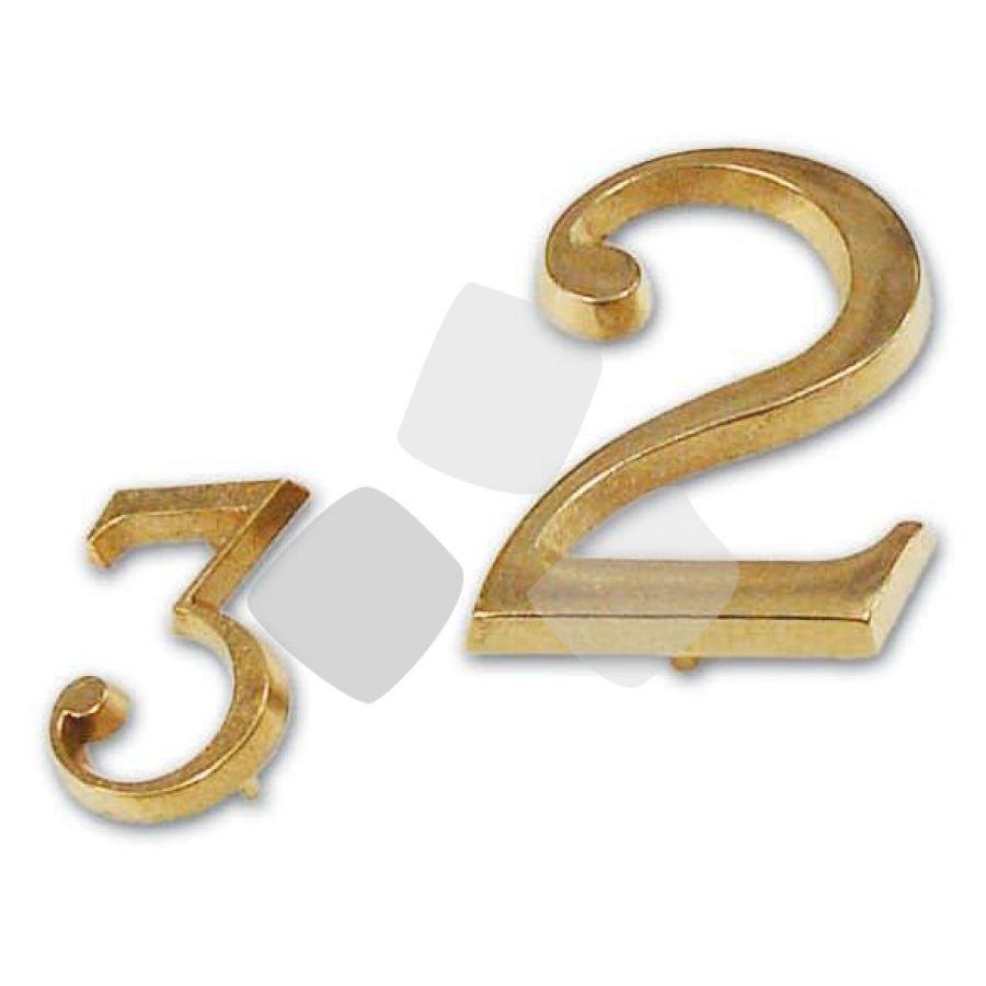 Numero in Ottone mm.40