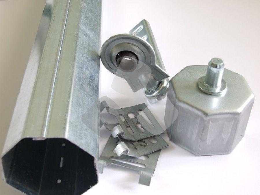 Kit rullo tapparella da 60 mm. per motore elettrico