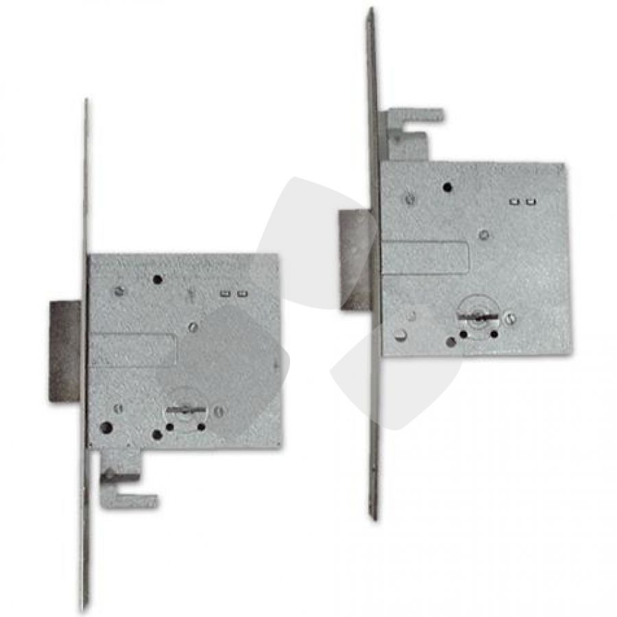 Serratura da infilare accoppiate 57020 cisa - Doppia serratura porta blindata ...