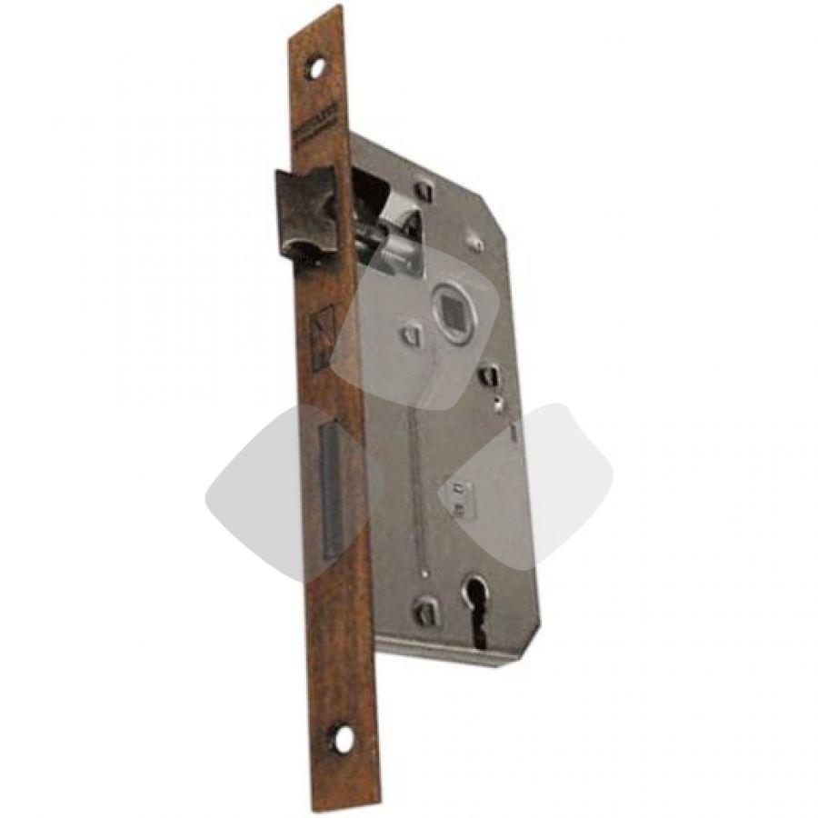 SERRATURA da infilare bordo quadro bronzato patent