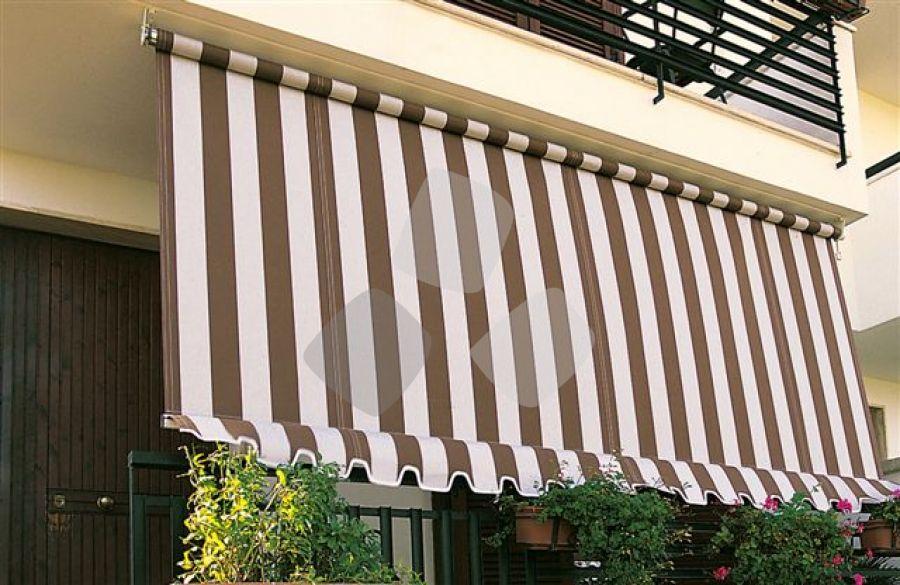 Tende Da Sole Per Balconi.Tenda Da Sole 3000 A Caduta Verticale Per Balcone