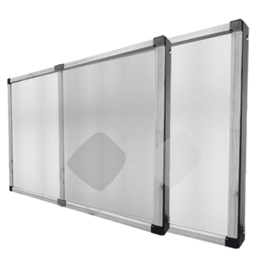 Zanzariera economica a pannello estensibile per guide - Smontare maniglia finestra senza viti ...