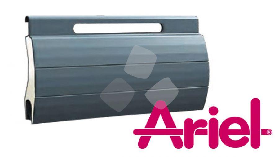 Tapparella avvolgibile Ariel in alluminio coibentato con asola larga